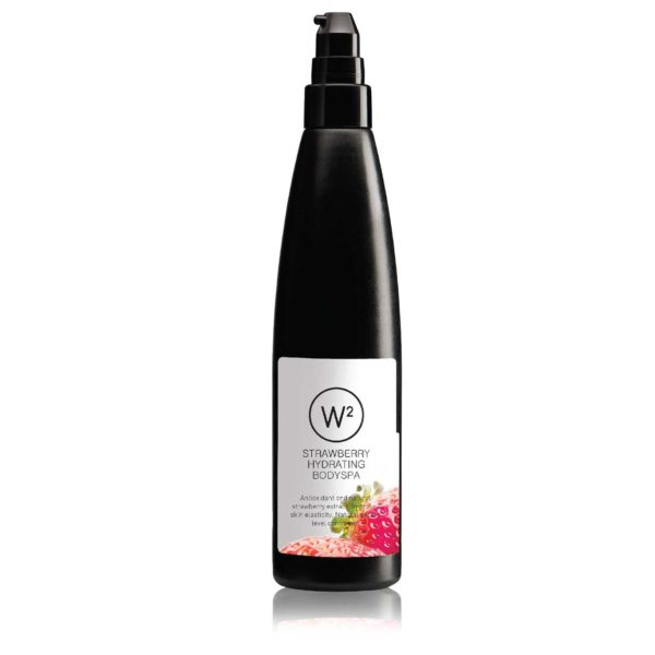 W2 strawberry body wash / spa